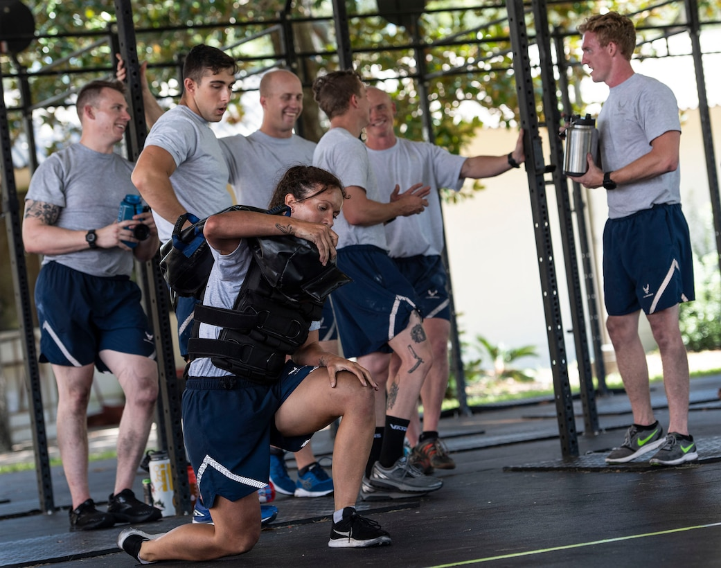 The 96th Civil Engineer Group's EOD flight recently hosted and participated in the beta test for the Air Force's prototype of the new EOD 'Tier 2' physical fitness test based on job demands Sept. 10 – 12, 2018.