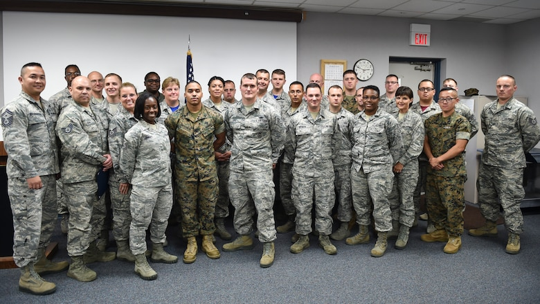 Youngstown Air Reserve Station; Airmen, Marines, and a Sailor took part in a non-commissioned officer leadership development course September 17-21.