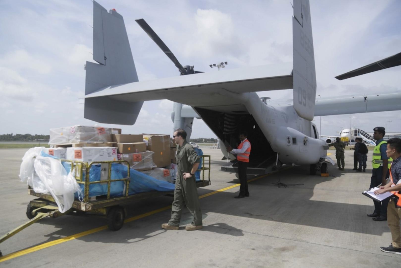 NAVSUP WSS Assists 7th Fleet with Logistics Hub in Sri Lanka