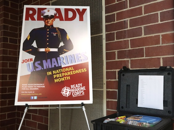 Marine Corps Logistics Base Albany Operations Training Division and Emergency Management Branch will host a Preparedness Fair for the installation's housing residents and all base personnel on September 25 from 6-8 p.m. at Lincoln Housing Community Center. The event will provide information on actions that individuals can take to ensure their families are better prepared for disasters. (U.S. Marine Corps photo by Re-Essa Buckels)