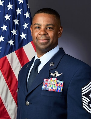 "Chief Master Sergeant Johnny ""Jay"" L. Harris Jr."
