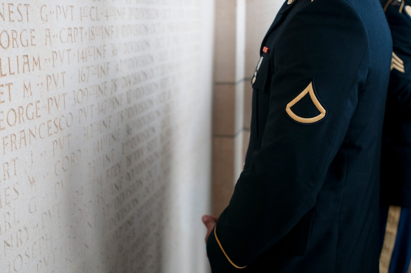 WWI Centennial Commemoration at the Meuse-Argonne American Cemetery