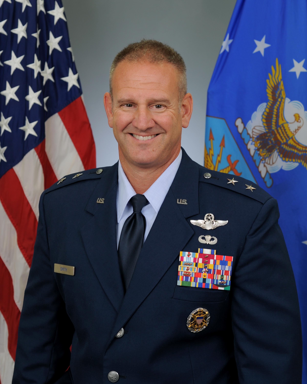 major general dirk d smith u s air force biography display