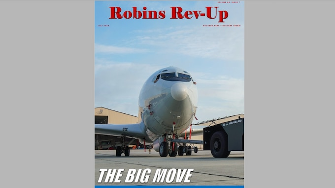 Robins Online Rev-up is posted last Friday of the month.