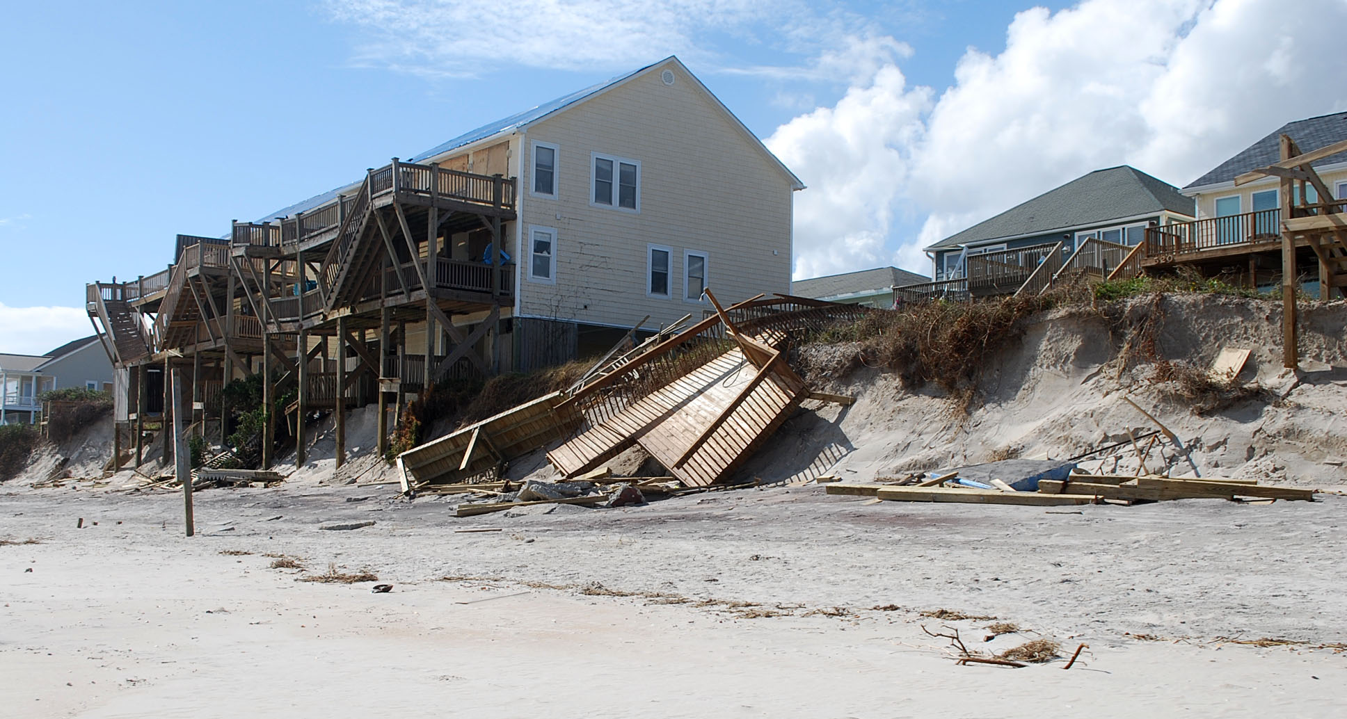 Hurricane Florence Aftermath At North Topsail Beach, NC