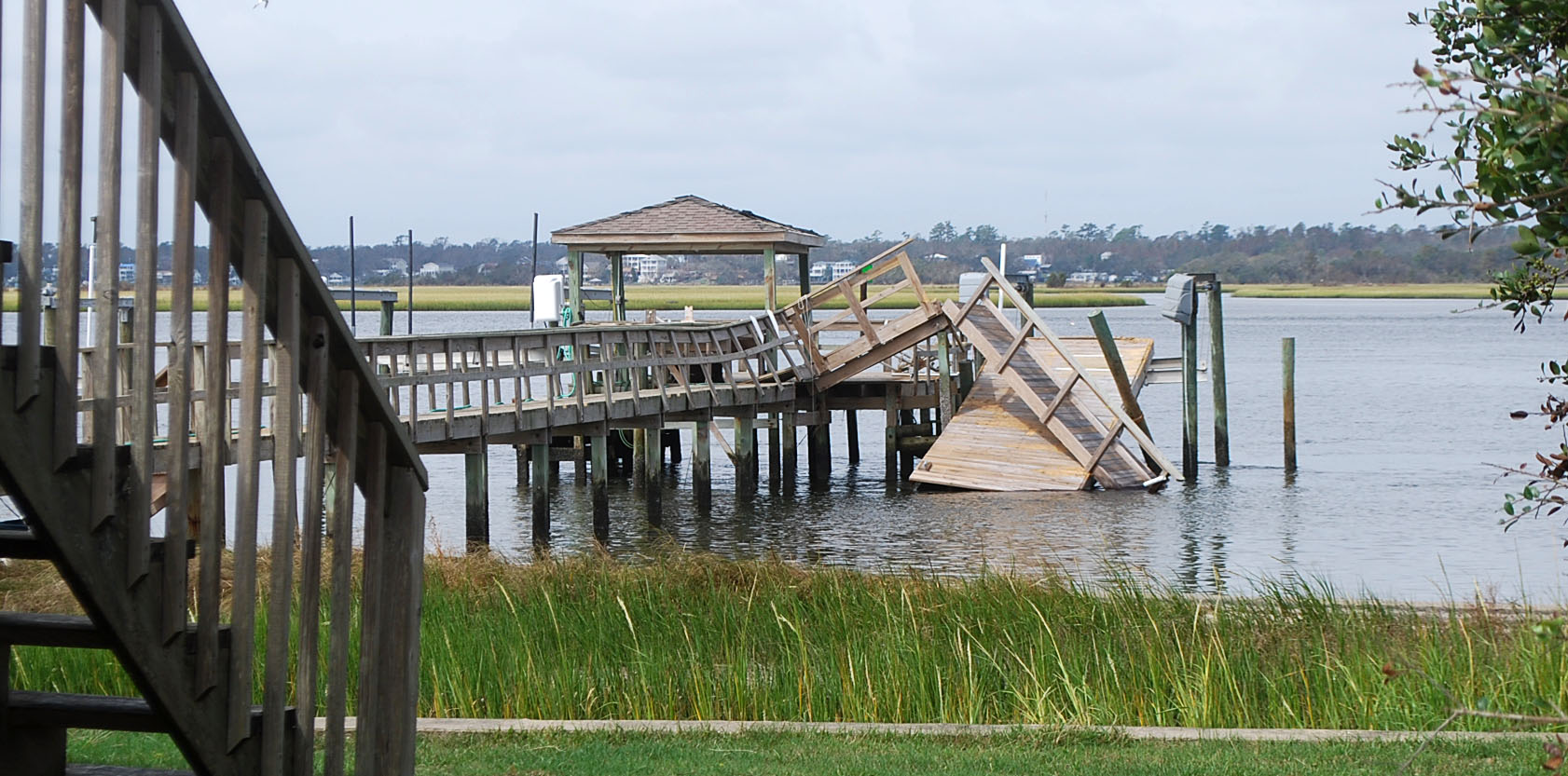 Hurricane Florence Aftermath At Topsail Island, NC