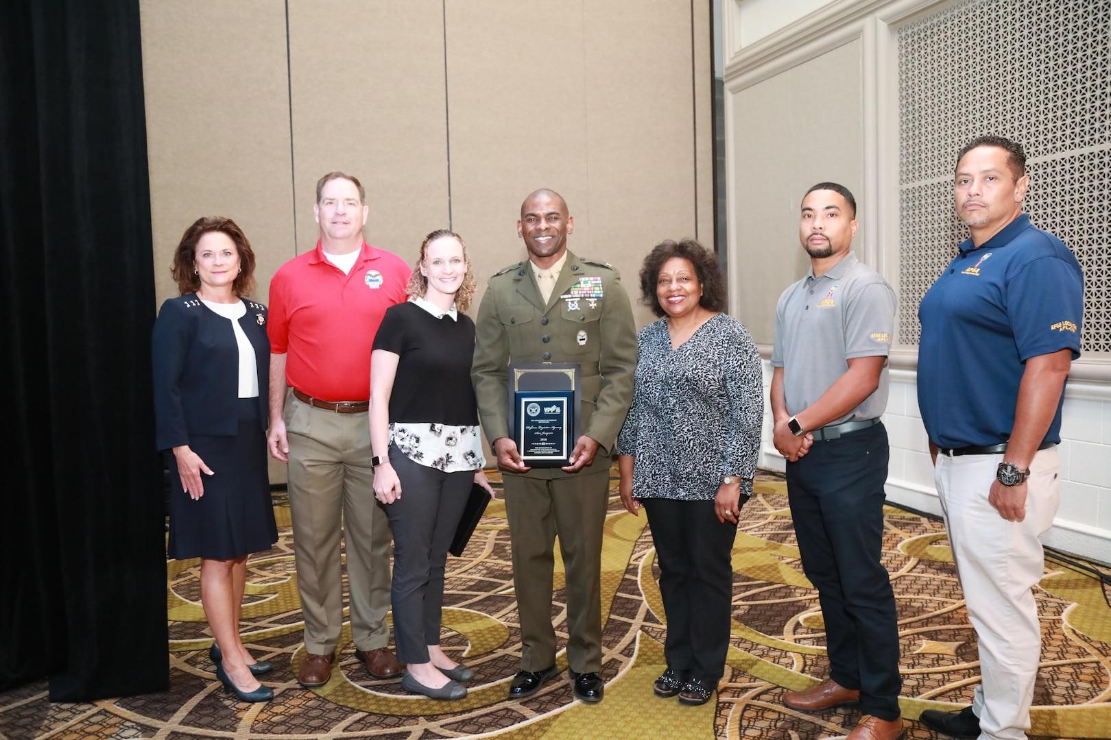 DLA Distribution San Joaquin receives the prestigious Department of Defense Voluntary Protection Programs Site Award