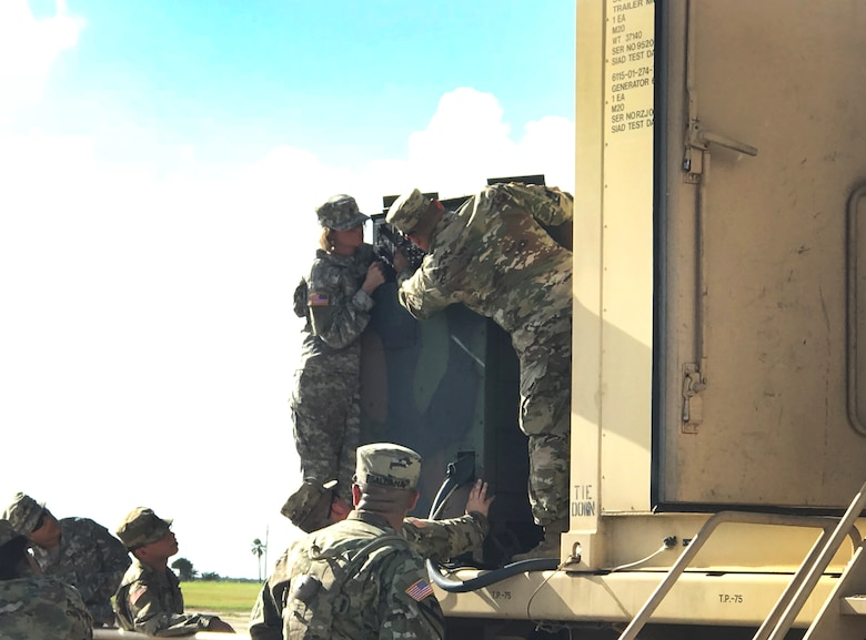 Texas Army Reserve unit takes to the bay