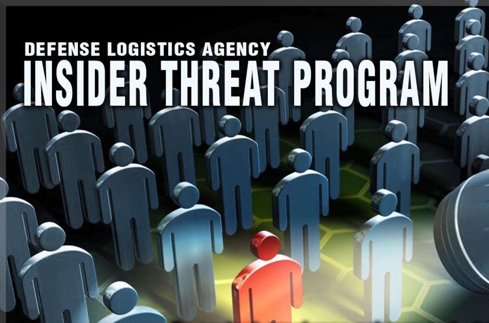 DLA Insider Threat Program graphic.