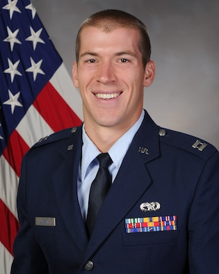 Capt. Andrew Lankow (U.S. Air Force photo)