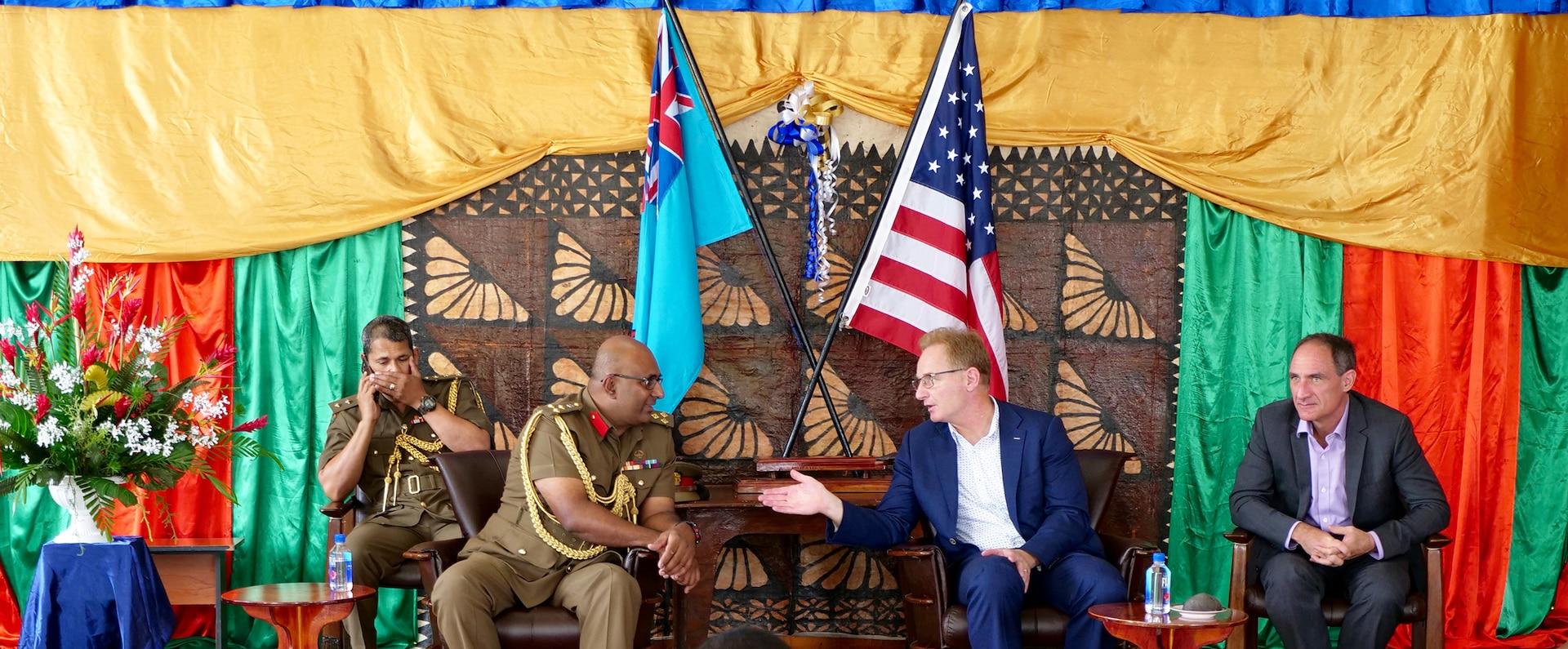 Under SECNAV Visits Fiji for Partnership Building