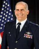 Official portrait of U.S. Air Force Col. John Mirabello, commander of the 157th Medical Group, New Hampshire Air National Guard.