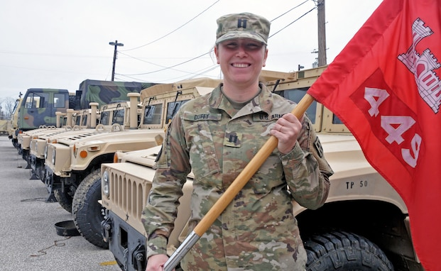 1st USAR Female Mobility Augmentation Company Commander