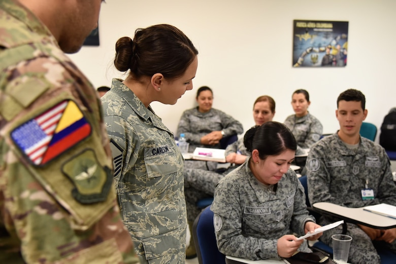 Air advisors teach Colombian air force to 'Help Itself'