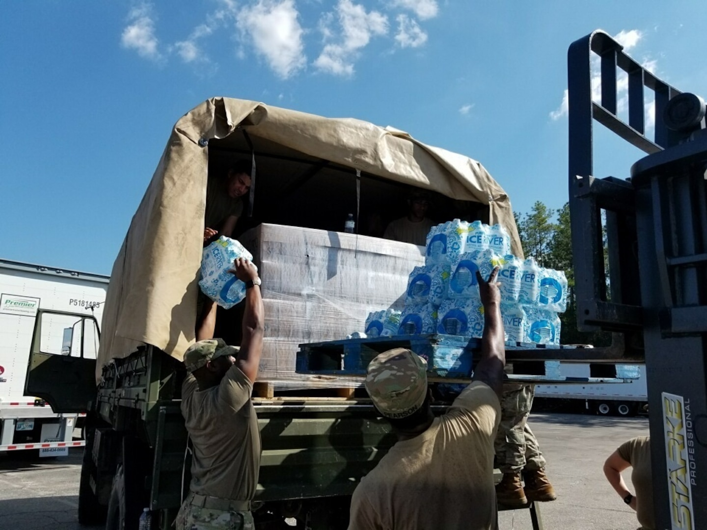 DLA Troop Support provides food, generators, other materials for Hurricane Florence relief efforts