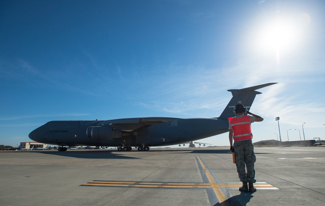 The 349th and 60th Air Mobility Wings work together to enhance Rapid Global Mobility by ensuring aircraft at Travis AFB are ready to go any time, any place, anywhere.