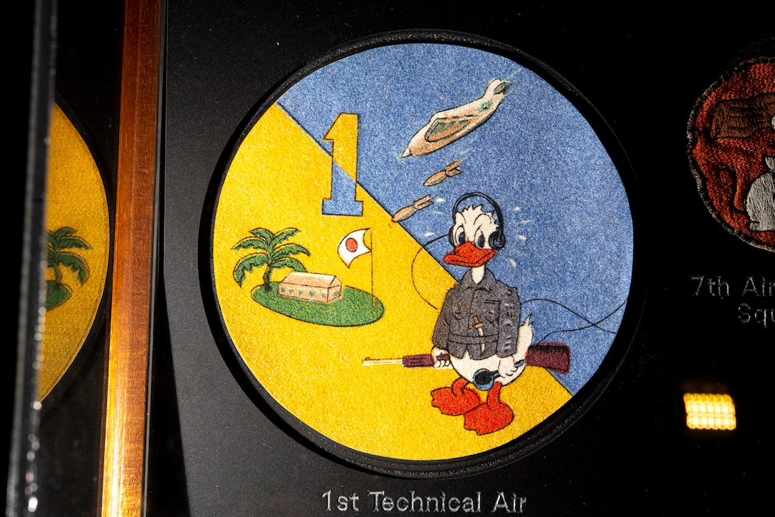 Donald Duck patch.
