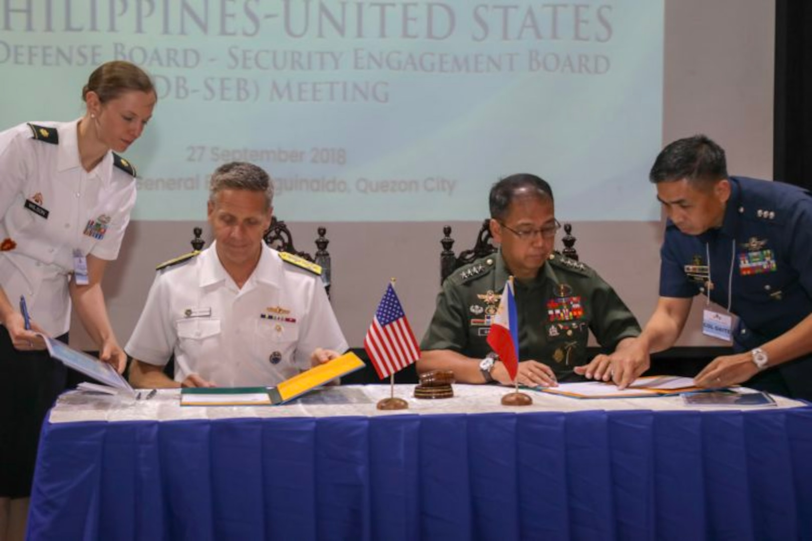 Annual Mutual Defense Board and Security Engagement Board Reinforces U.S.-Philippine Alliance