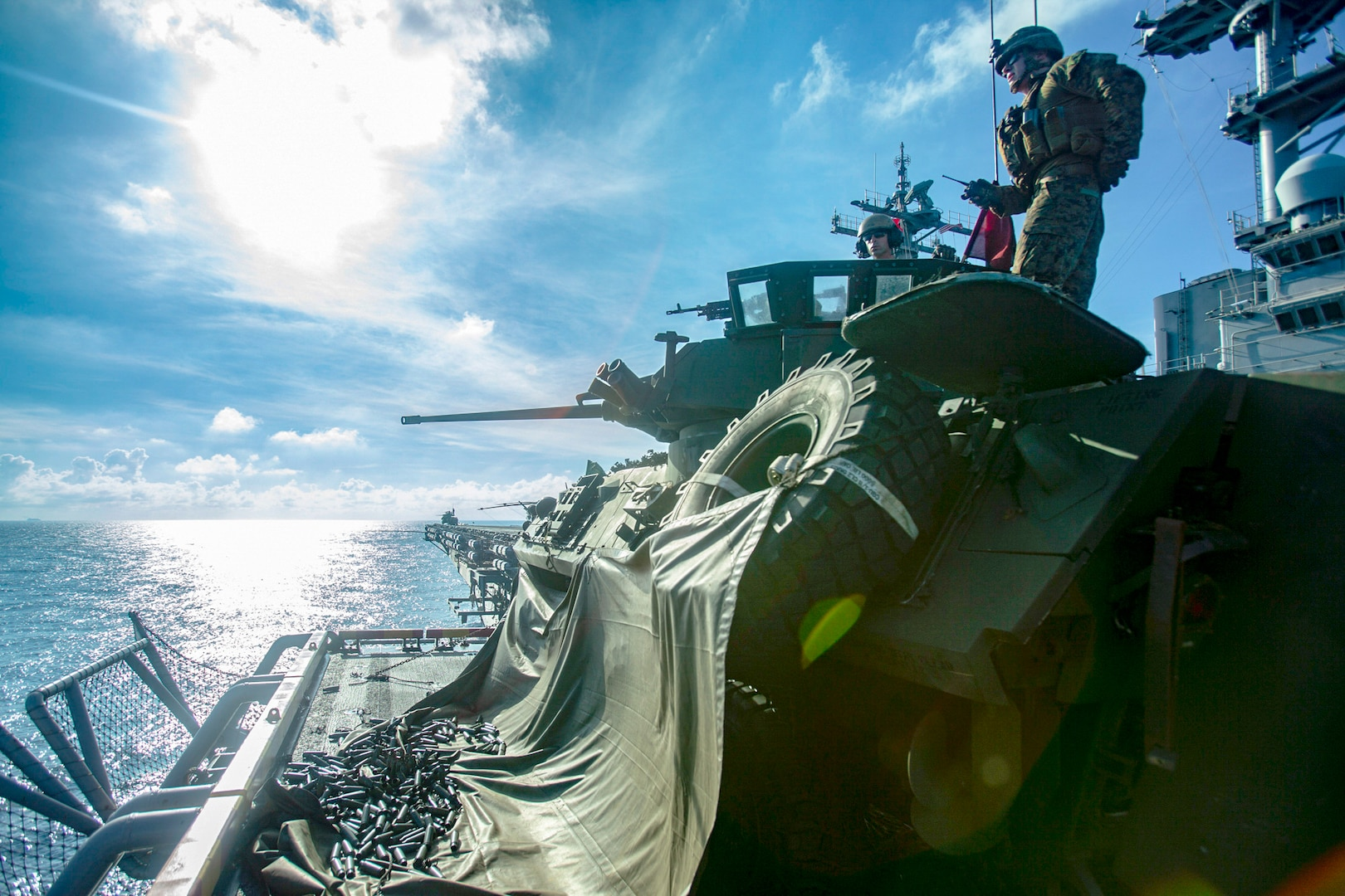 Wasp ARG, 31st MEU conduct DATF drill in the South China Sea
