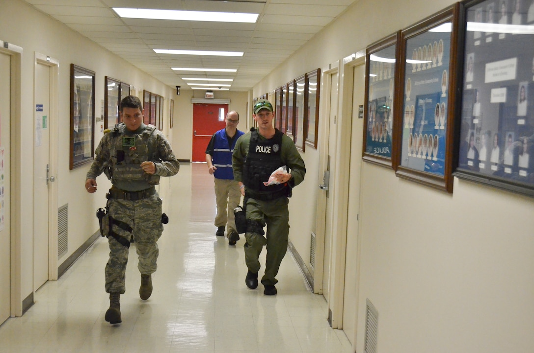 Active Shooter Training at JSCC