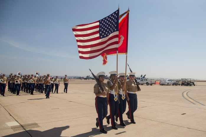 2018 Marine Corps Air Station Miramar Air Show: opening ceremony