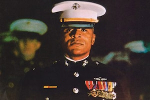 Marine Corps Maj. James Capers Jr.
