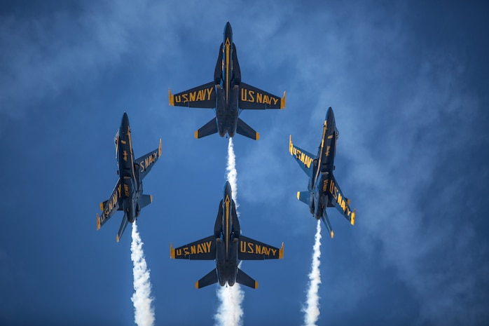 U.S. Navy Blue Angel's 2018 MCAS Mirmar Air Show