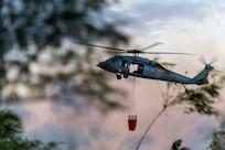 HSC-25 evacuates cruise passenger, fights fire on Nimitz Hill