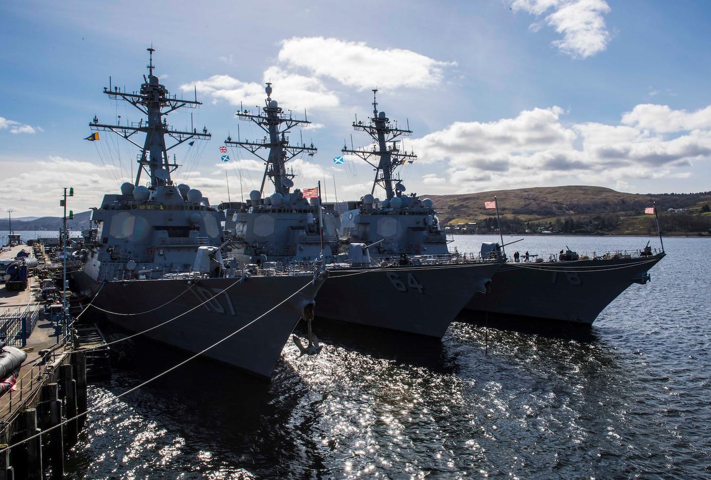 USS Porter Joint Warrior 2019