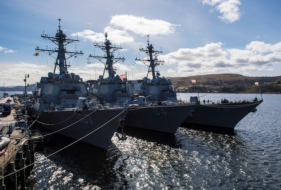 USS Porter Joint Warrior 2019