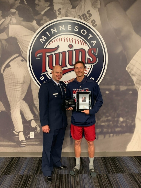 Congratulations to James Griffin Jax, the 2018 Air Force Male Athlete of the Year. (Courtesy photo)