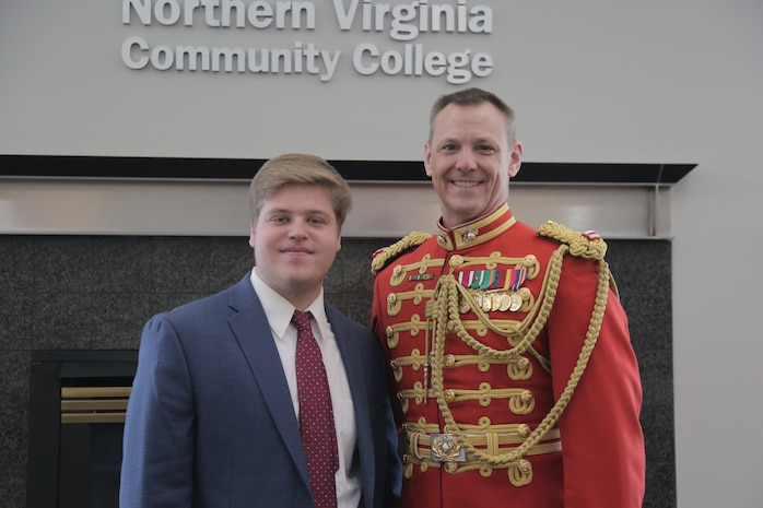 "On March 31, 2019, ""The President's Own"" U.S. Marine Band presented a concert titled ""Song and Dance"" at the Rachel M. Schlesinger Concert Hall and Arts Center at Northern Virginia Community College in Alexandria, Va. The concert featured euphonium player Peyton Sills, the winner of the Marine Band's Concerto Competition for High School Musicians."