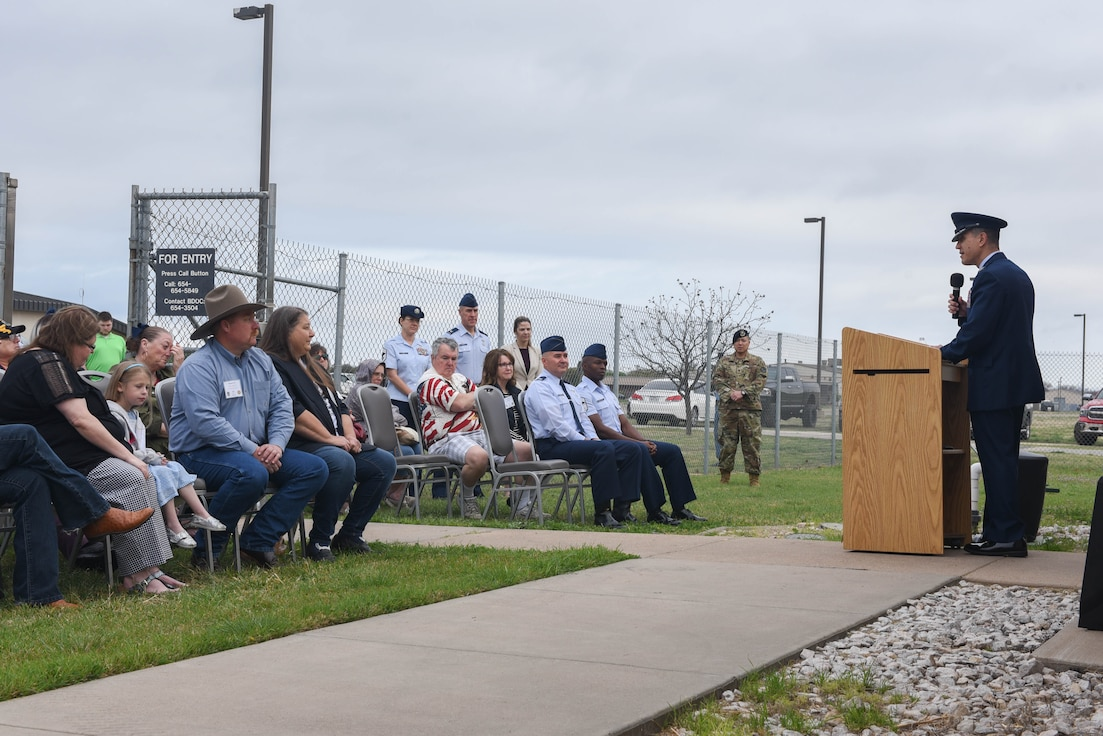 MWD kennel renames in Sgt. Gerald Fritz's honor.