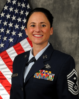 Senior Master Sgt. Rhonda Gambill, 87th Aerial Port Squadron first sergeant, was selected as the 2018 Air Force Reserve Command First Sergeant of the Year. The announcement was made March 27, 2019.