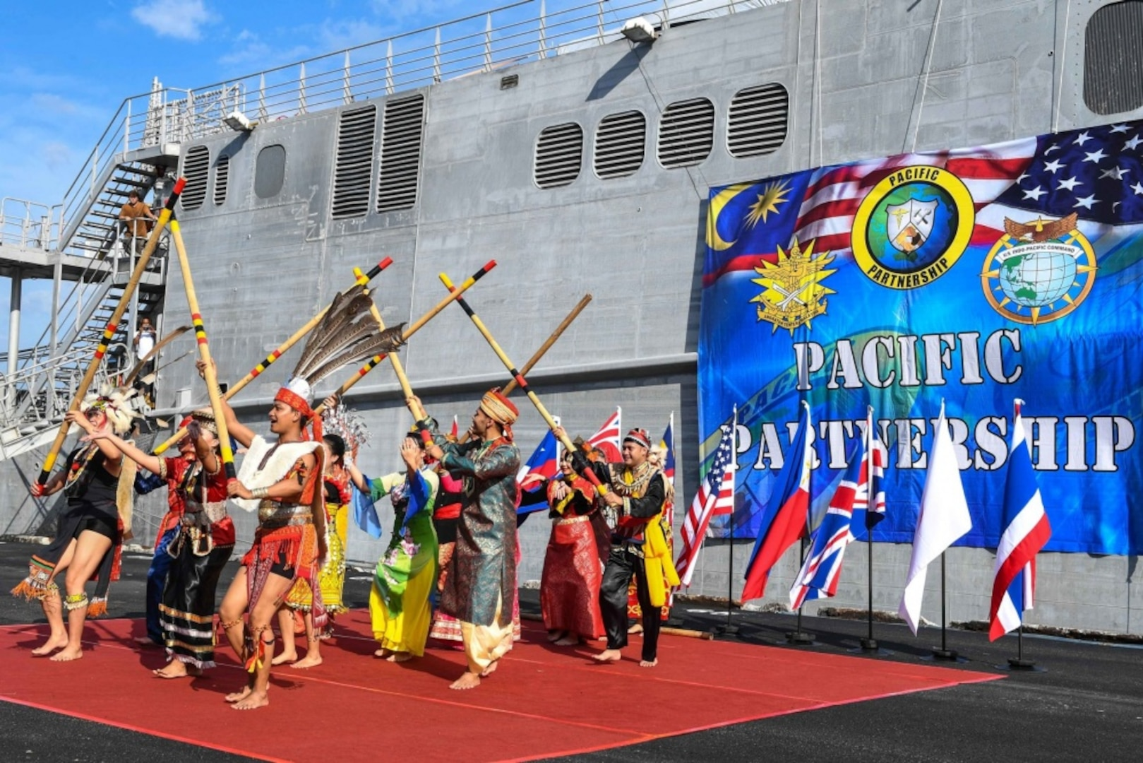Pacific Partnership 2019 begins Malaysia mission