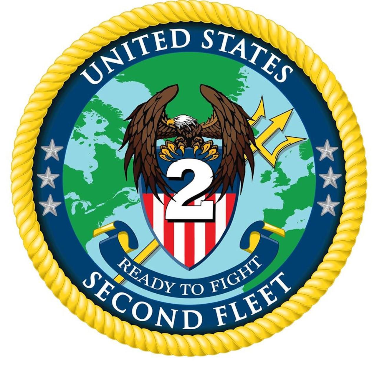 U.S. 2nd Fleet Logo