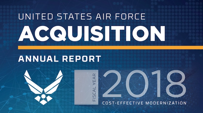 FY 2018 AQ Report (U.S. Air Force graphic)