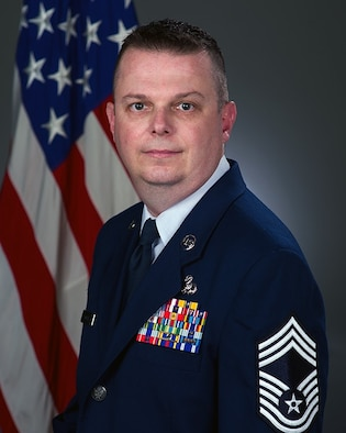 Chief Jeffrey Clark, 660th AMXS Superintendent