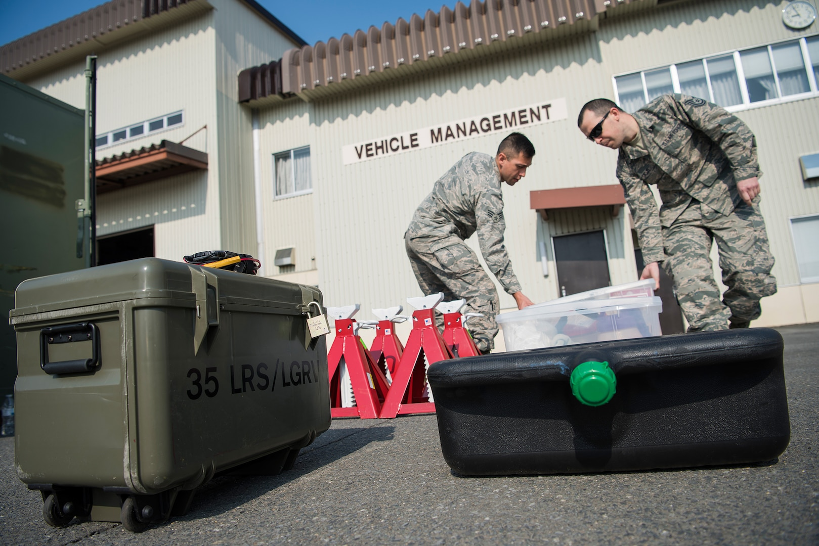 Misawa Logistics Mechanics Conduct Their First Combat Readiness Exercise