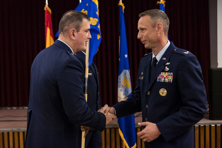 The 496th Air Base Squadron, Morón Air Base, Spain, was realigned from under the 86th Operations Group, Ramstein Air Base, Germany, to the 65th Air Base Group, Lajes Field, Portugal, 1 April, 2019 on Morón Air Base, Spain.