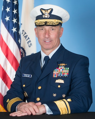 Photo of Rear Admiral Pat DeQuattro