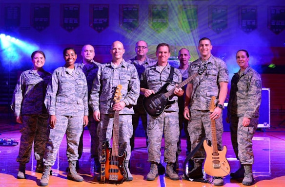 Raptor, the commercial music ensemble of the United States Air Force Heartland of America Band, is stationed at Offutt Air Force Base, Nebraska. Witha a dynamic stage presence, Raptor performs high-energy music from a variety of musical genres that enables them to tell the Air Force story to audiences of all ages.