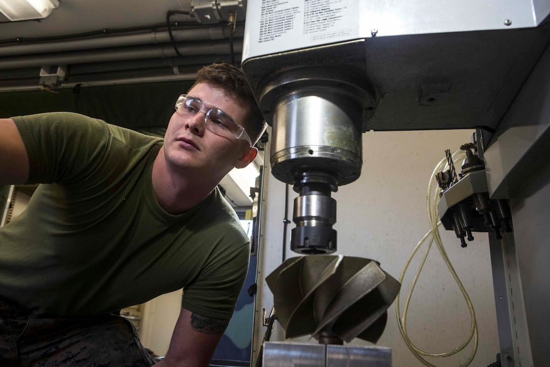 3D-printed impeller enhances readiness of Corps' main battle tank