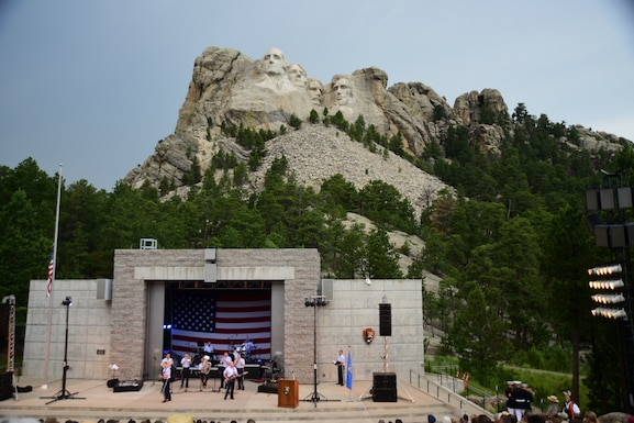 Mt. Rushmore performance