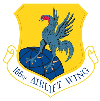 166th Airlift Wing Patch