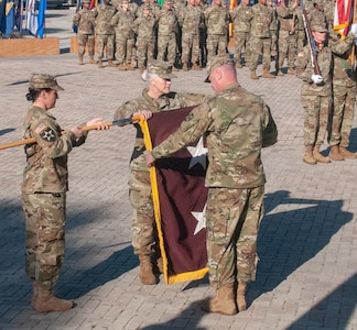 ARMEDCOM bids farewell to outgoing commander; welcomes new leadership
