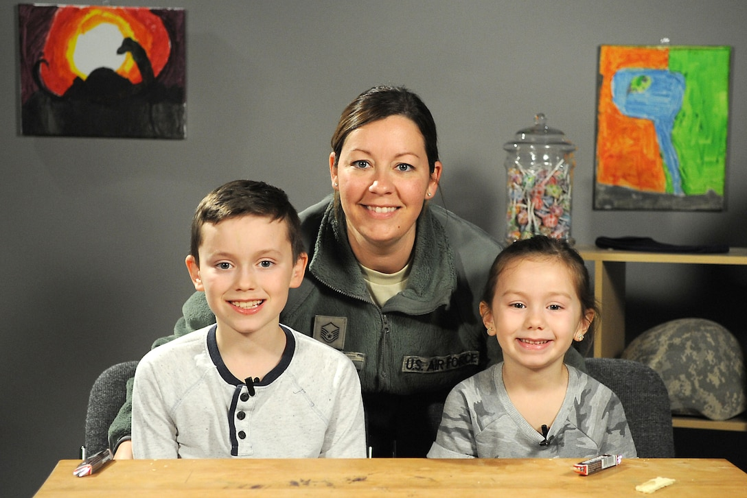 April is designated as the Month of the Military Child, highlighting the important role military children play in the armed forces community. It is a time to recognize military families and their children for the sacrifices they make, the resilience they display and the challenges they overcome. Today we highlight the Hurst family. Master Sgt. Melissa Hurst serves as the finance superintendent assigned to the 180th Fighter Wing. (Air National Guard photo by Senior Master Sgt. Beth Holliker).