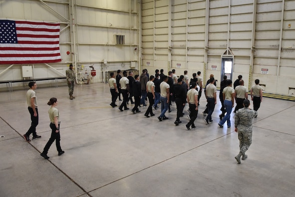 D&TF prepares recruits for military service