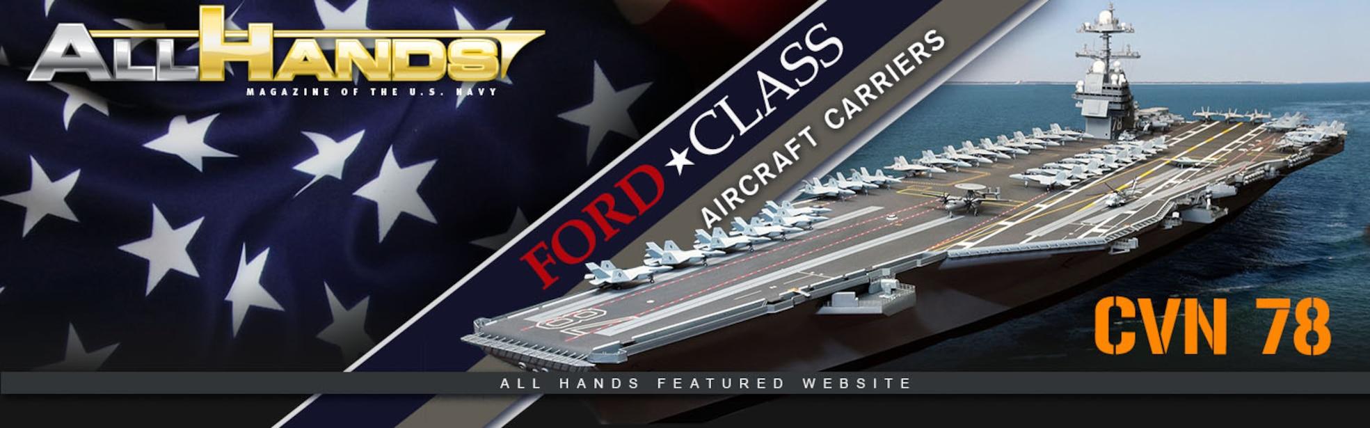 Gerald R. Ford (CVN 78) Banner