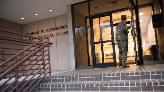 Residency program provides Airmen dental implant options
